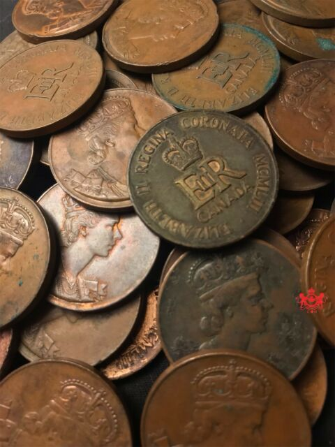 1953 Elizabeth coronation token - Various grade - Randomely picked