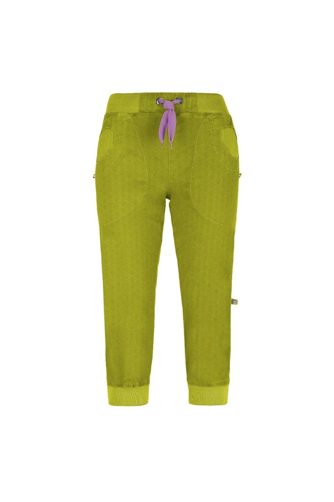 E9 Remix 19 3 4 - Long Lightweight Women's Trousers Climbing Pants Apple
