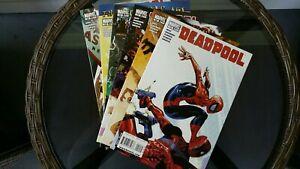 Deadpool-19-24-lot-of-6-NM-Cond-marvel-comics-Hit-Monkey