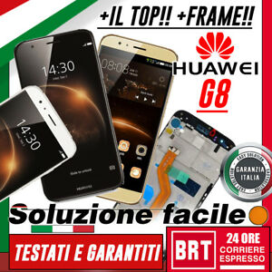 DISPLAY-LCD-TOUCH-SCREEN-FRAME-ORIGINALE-X-HUAWEI-ASCEND-G8-GX8-RIO-L01-L02-L03