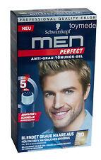 Schwarzkopf MEN PERFECT Anti-Grau Tönung Gel 30 Natur Mittelblond AntiGreyToner