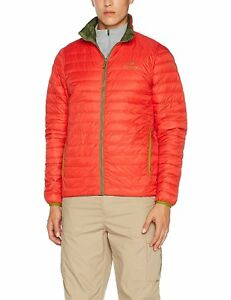 Eider TWIN PEAKS REVERSIBLE Down Jacket Mens MOSS GREEN  RED  LARGE UK 42 - fleetwood, Lancashire, United Kingdom - Eider TWIN PEAKS REVERSIBLE Down Jacket Mens MOSS GREEN  RED  LARGE UK 42 - fleetwood, Lancashire, United Kingdom