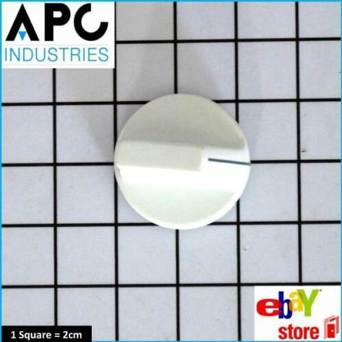 GENUINE CHEF OVEN COOKTOP KNOB BAR TYPE WHITE PART # 44786
