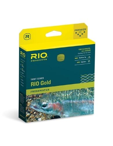 Rio gold Fly Line WF6F  Moss   gold               Authorized Dealer