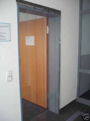 Streifenvorhang Weich PVC 2,25 m x 3,25 m   300 x 3 mm Breite//Höhe