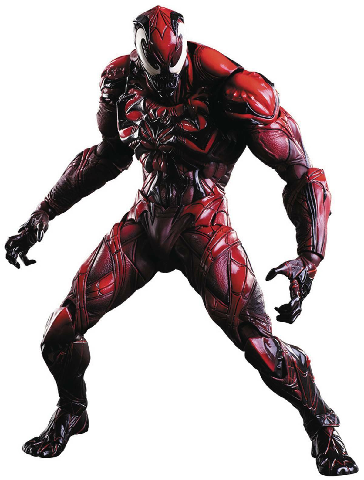 Marvel Comics Venom RED RED RED color Variant Play Arts Kai CARNAGE Action Figure  MIB  89c3f5