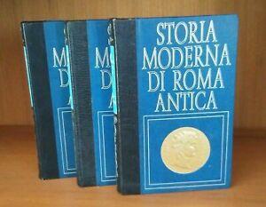 LIBRO-STORIA-MODERNA-DI-ROMA-ANTICA-COMPLETA-18-volumi-USCITI-regalo