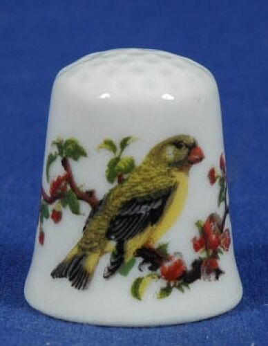SPECIAL OFFER.TCC Vista Alegre Song Bird Portugal China Thimble B//19