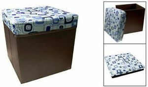 Foldable Storage Stool-Lq
