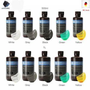 EU ANYCUBIC Multi Color 405nm UV Sensitive Resin For SLA Photon Impression 3D