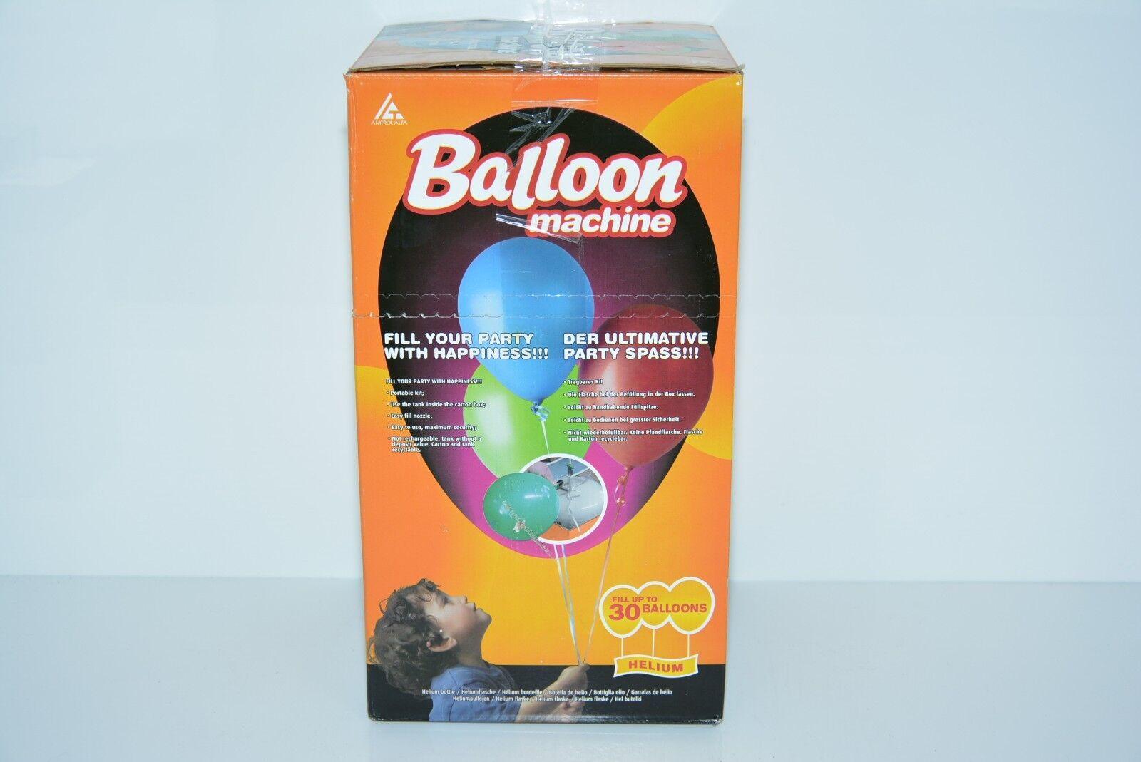 Helium Ballongas Flasche für ca. 30 Ballons NEU OVP