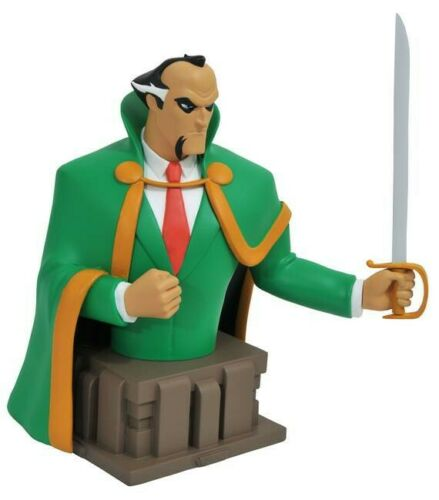 DC Batman The Animated Series Ra /'s Al Ghul 6 pouces buste