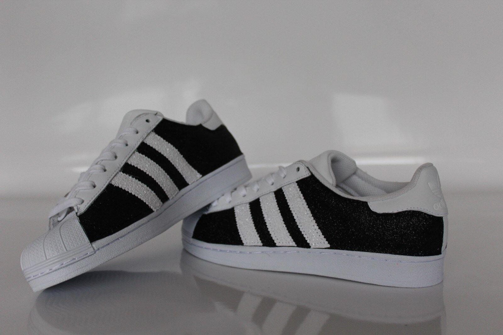 Scarpe adidas nero superstar con glitter fino nero adidas f05ed6