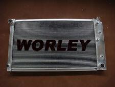 3 Rows Aluminum radiator for Chevy Chevelle L6 V8 1968 1969 1970 1971 1972 1973