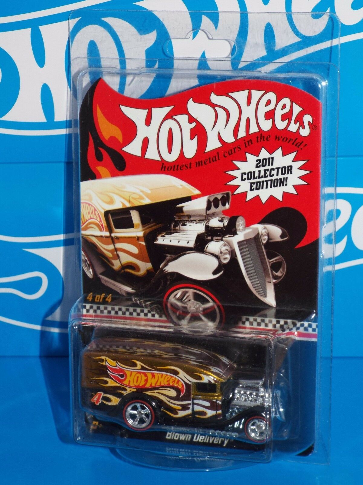 Hot Wheels 2011 4th Quarter Kmart Mail-In Promotion Promotion Promotion Blown Delivery gold w  RRs 772ee2