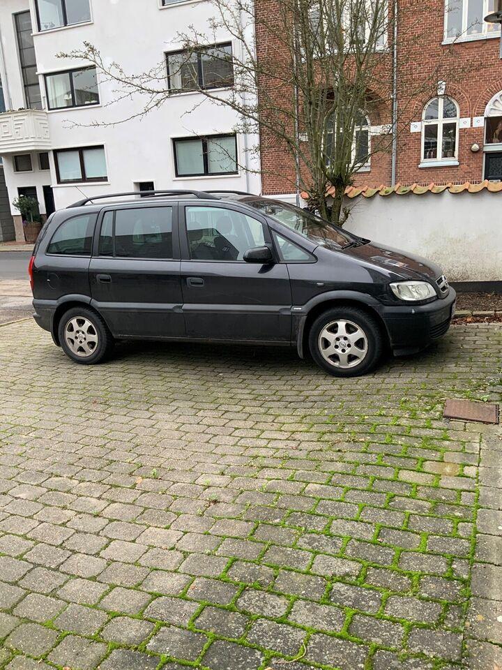 Opel Zafira, 1,8 16V Elegance 7prs, Benzin