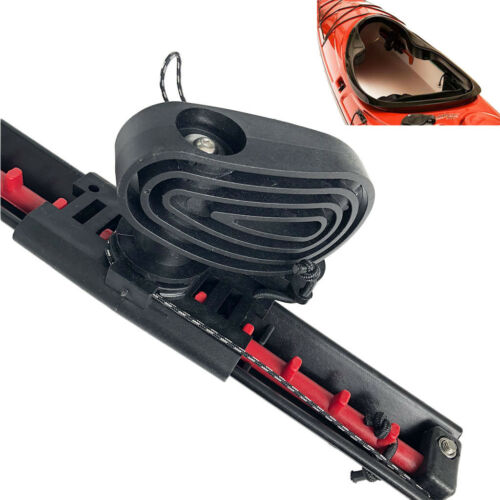 2x Universal Kajak Kanu Fußstütze Rudersteuerung Fußstütze DIY Zubehör