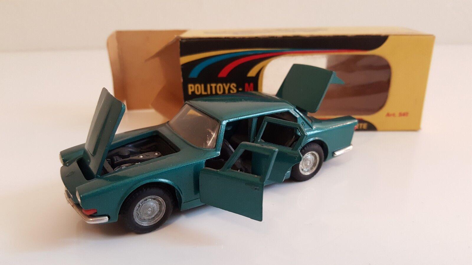 Politoys - 541-maserati quattro porte in original box vn mib (1 43)