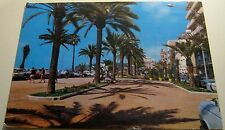 Spain Costa Brava Lloret de Mar detalle del Paseo - posted