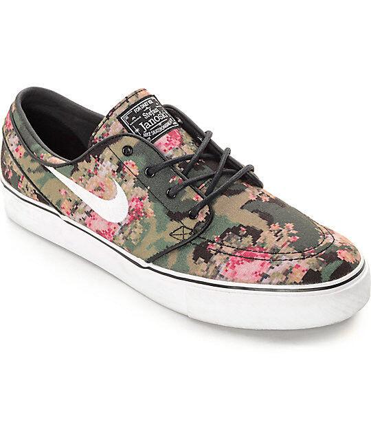 Nike SB Zoom Stefan Janoski Premium Floral Digi Camo 482972-900 Size: 4