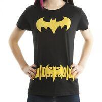 Batgirl Batman Costume Juniors Cosplay T-shirt Tee Small Or Large