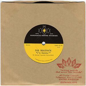 THE-BEATPACK-Im-Walkin-heavy-vinyl-7-NEW-UNPLAYED-garage-punk-R-B