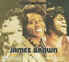 Triple Feature [Digipak] by James Brown (CD, Nov-2009, 3 Discs, Sony BMG)