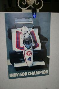 TOM-SNEVA-TEXACO-STAR-INDY-500-CHAMPION-1983-PROMO-POSTER-15-X-23-COLOR-IMAGE