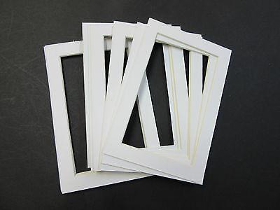 Picture Frame Mat CUSTOM ORDER 80 white mats 3 sizes