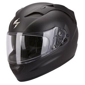 casque-casco-helmet-SCORPION-EXO-1200-AIR-NOIR-MAT-UNI-taille-XL-61-62