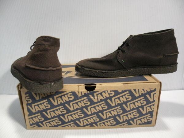 Taille de Vintage hommes dans Vans Cojo 7 / Femmes, taille 8,5, chaussure noir * N-of663el Brand new