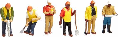 Spur H0 33116 NEU Bachmann Figuren Arbeiter 6 Stück
