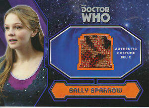 Topps-2015-Doctor-Who-Sally-Sparrow-Costume-Relic-Trading-Card