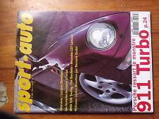 $$t Revue sport auto N°398 Luciano Benetton  Porsche 911 Turbo  Mansell McLaren