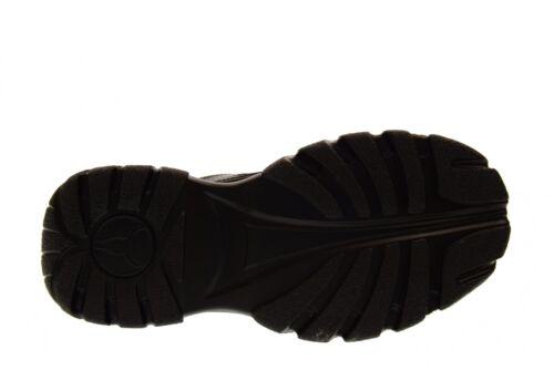 Windsor Smith scarpe donna sneakers con piattaforma LUPE NERO A18