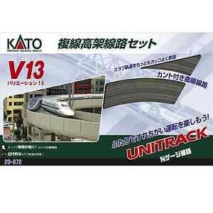 Kato-20-872-Unitrack-V13-Viaduc-Voie-Double-Double-Track-Viaduct-Set-N