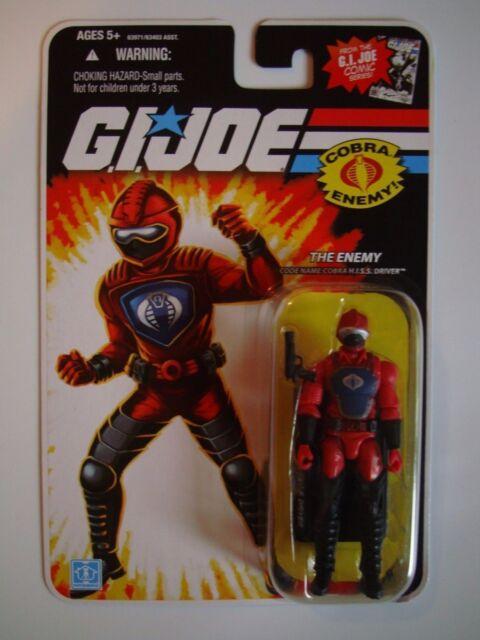 GI Joe 25th Anniversary Cobra Hiss Driver Figure NM-MT Sealed ARAH L@@K!