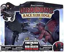 Raro-Dreamworks Cómo Entrenar a Tu Dragón Desdentado vs Red Death Battle Pack