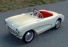 1956 / 1957 Eska 'Kiddie Corvette' Pedal Car (Replacement Windshield)