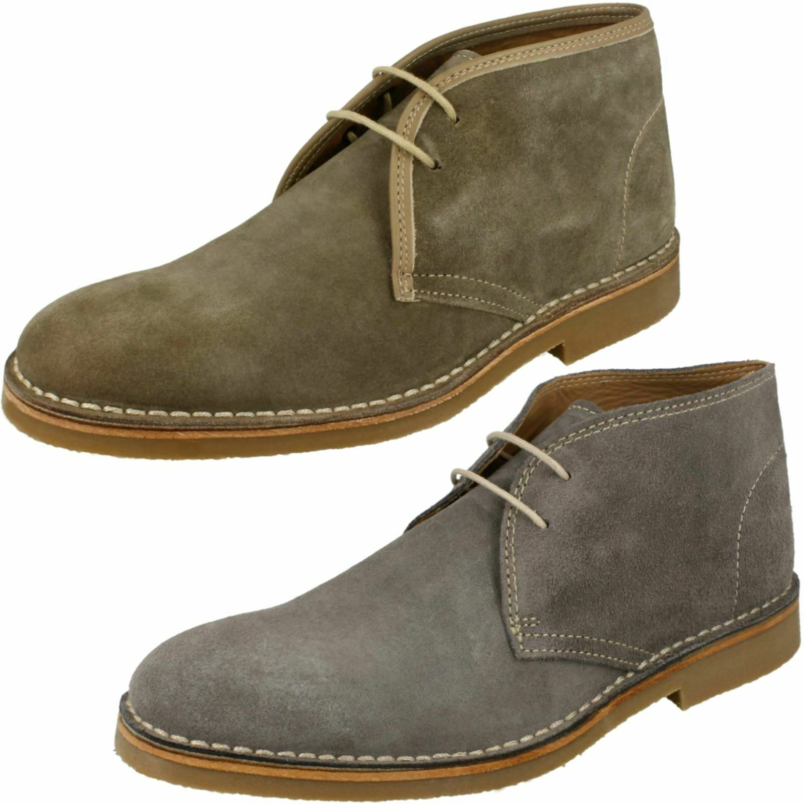 Mens Loake Lace Up Boots - Kalahari