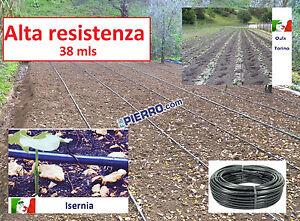 Ala-gocciolante-100-metri-38mls-passo-20-30-40-80-tubo-irrigazione-goccia-ATP