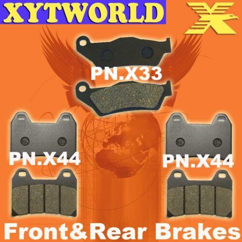 FRONT REAR Brake Pads for KTM 1190 Adventure R 2013 2014 2015