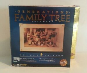 sierra generations family tree software download