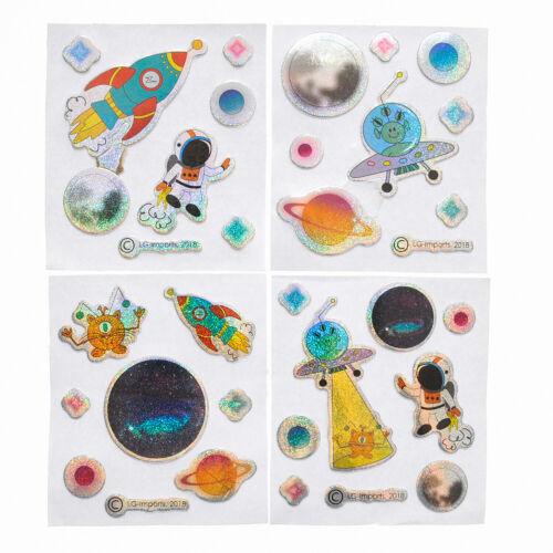 120 KINDER STICKER 3D-Effekt Aufkleber Mitgebsel Kindergeburtstag Basteln