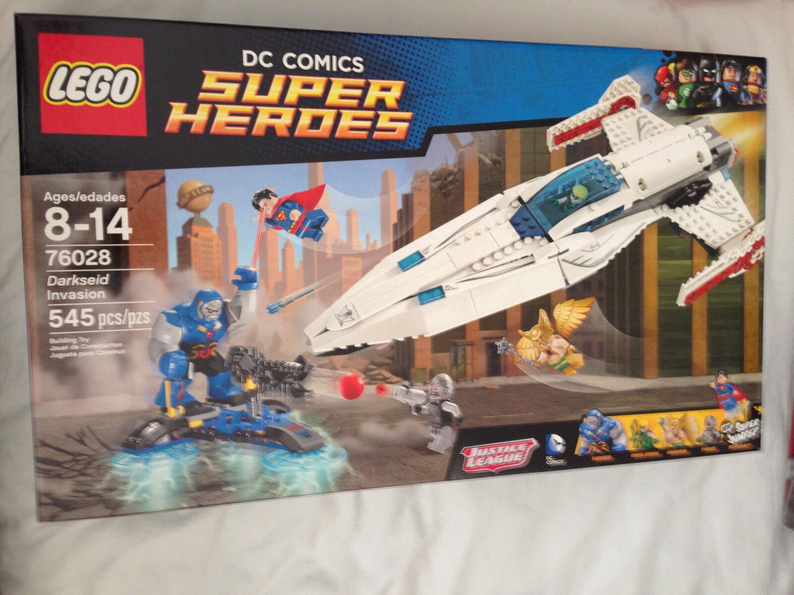 Jubilado Lego Super Heroes Darkseid invasión 76028 non-Caja de menta