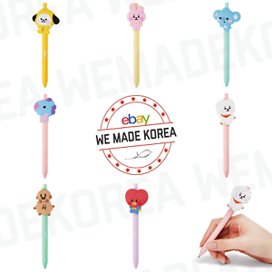 BT21-Baby-Character-Gel-Pen-Ball-Point-Pen-7types-Official-K-POP-Authentic-Goods