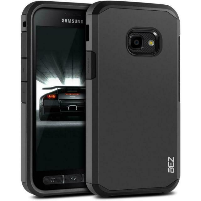 BEZ H2-BBSXC4 Coque Antichoc pour Samsung Galaxy Xcover 4 - Noire