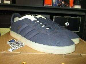 finest selection a29a0 b9cb8 Image is loading NEW-ADIDAS-GAZELLE-CRAFTED-CHARLES-F-STEAD-GREY-