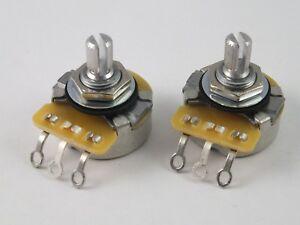 vintage cts pots log a or linear b 500k volume tone potentiometersimage is loading vintage cts pots log a or linear b