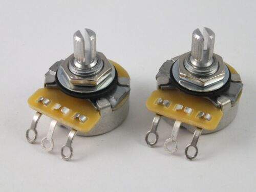 Vintage CTS POTS Log A or Linear B 500k Volume Tone Potentiometers for Guitar